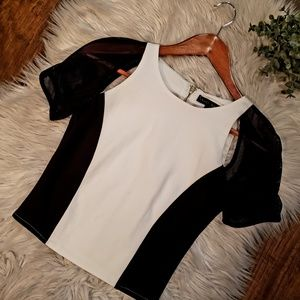 Sheri Bodell Cut Out Cropped Top